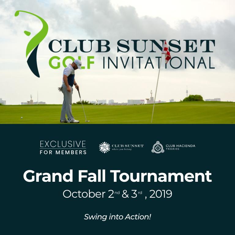 Club Sunset Golf Invitational - Fall Tournament 2019