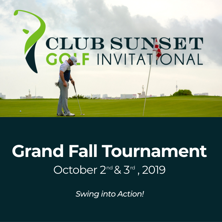 Club Sunset Golf Invitational - Fall Tournament 2019