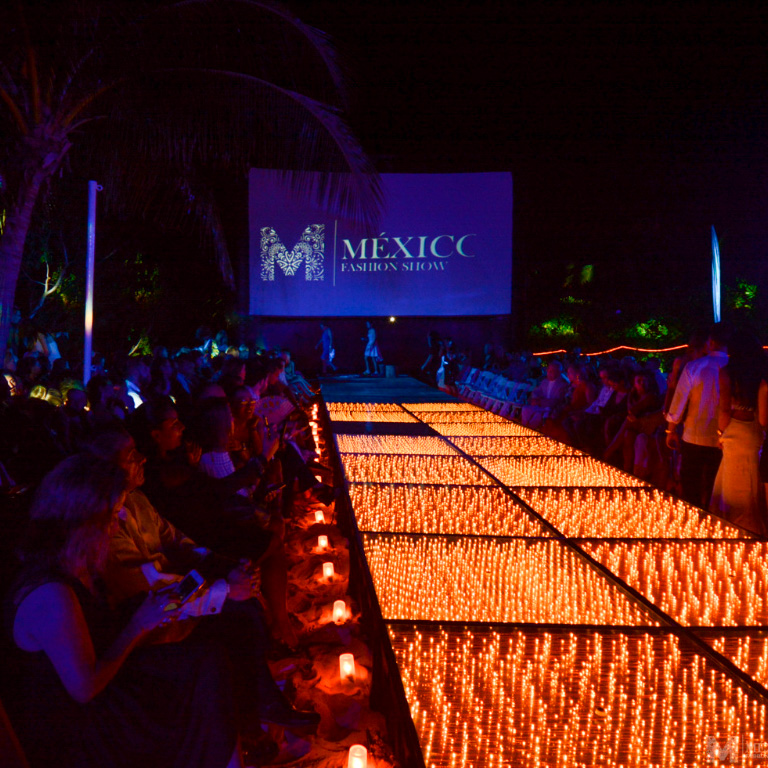 México Fashion Show: Fashion Rules at Hacienda Tres Rios in the Riviera Maya