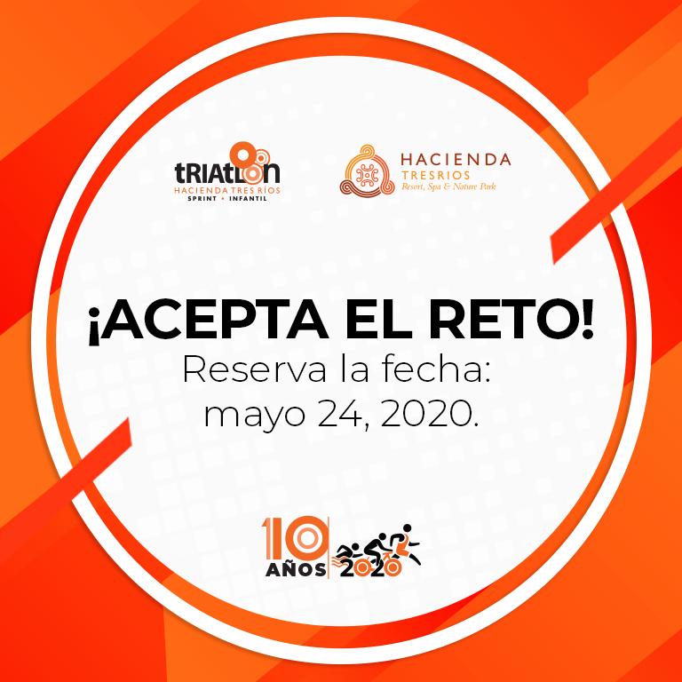 Acepta el reto - Reserva la fecha mayo 24 , 2020