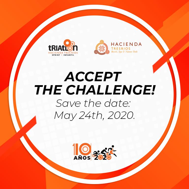 Accept the challenge - Triathlon 2020