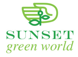 Sunset Green World